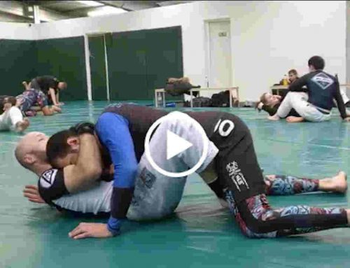 "Move of the Week – ""Guillotine from the Butterfly Guard"""
