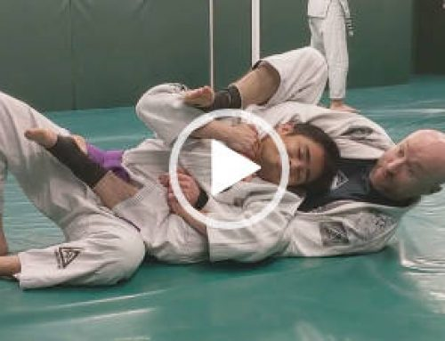 "Move of the Week – ""Lapel Choke from the Back"""